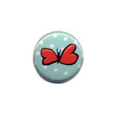 Button: Schmetterling