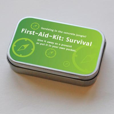 funny First-Aid-Kit: Survival in the urban jungle