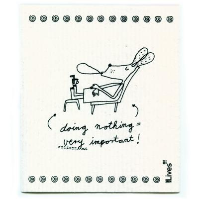 Schwammtuch: doing nothing = very important