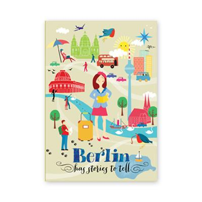 Postkarte: Berlin has stories to tell