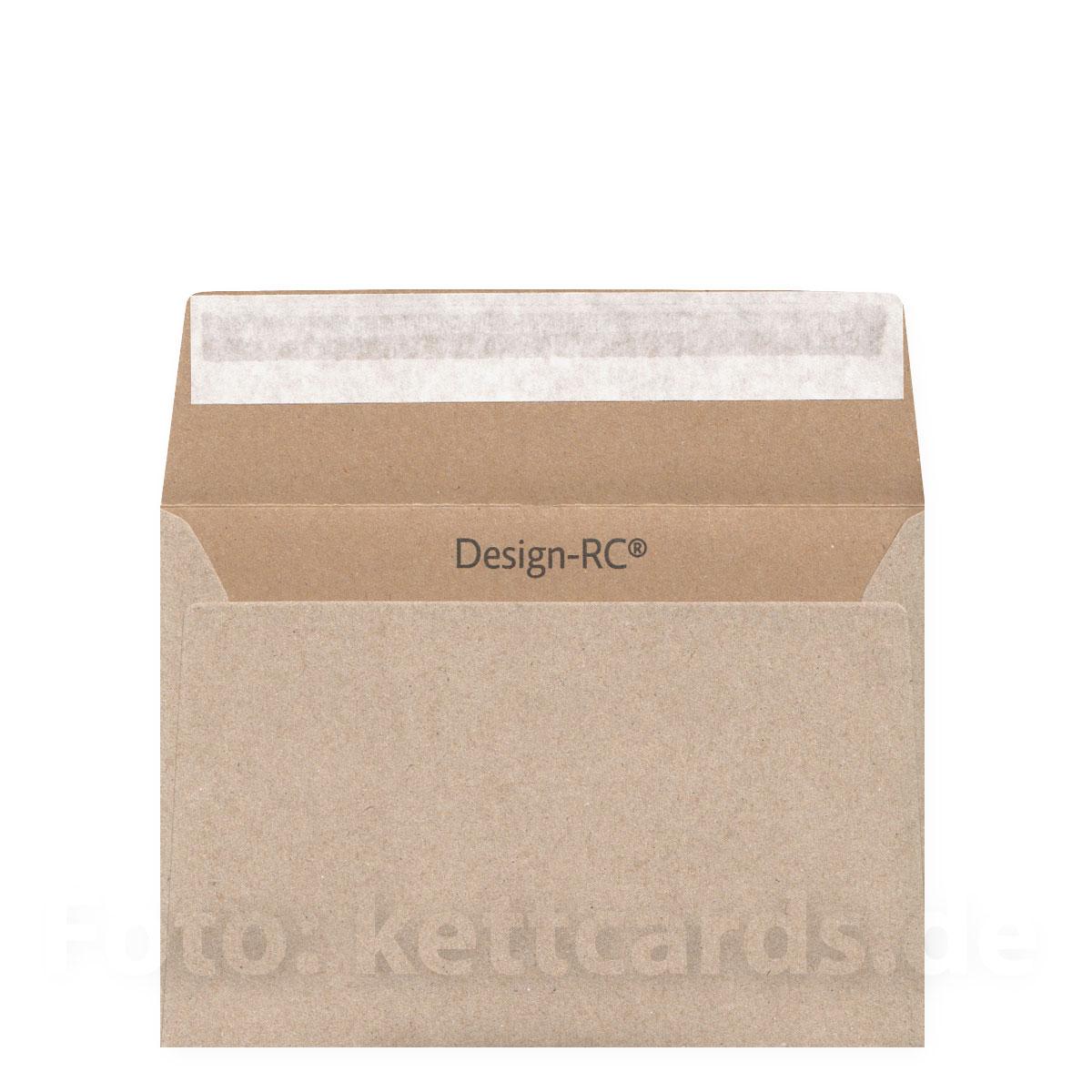 Hellbraune Designer Recycling Hüllen Din C6 Kettshop