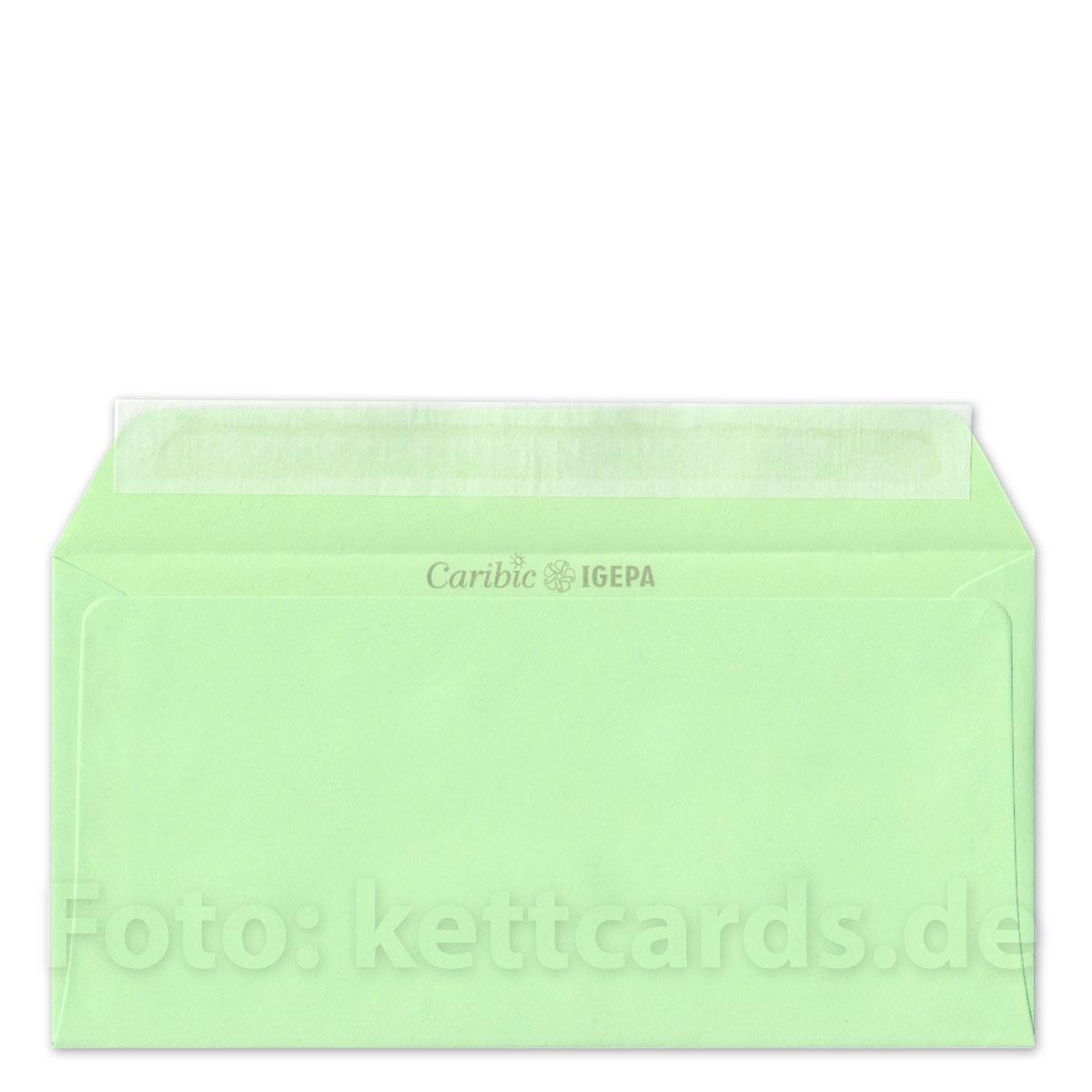 Kettshop Mintgrüne Haftklebende Umschläge Din Lang C6 Lang Genannt