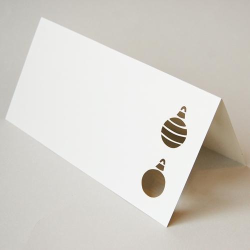 weihnachtskarten mit laserstanzung kettshop. Black Bedroom Furniture Sets. Home Design Ideas