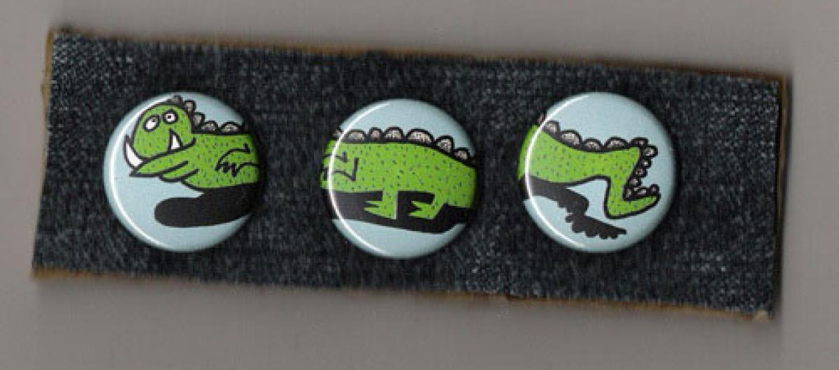 Buttons: Monstertryptichon