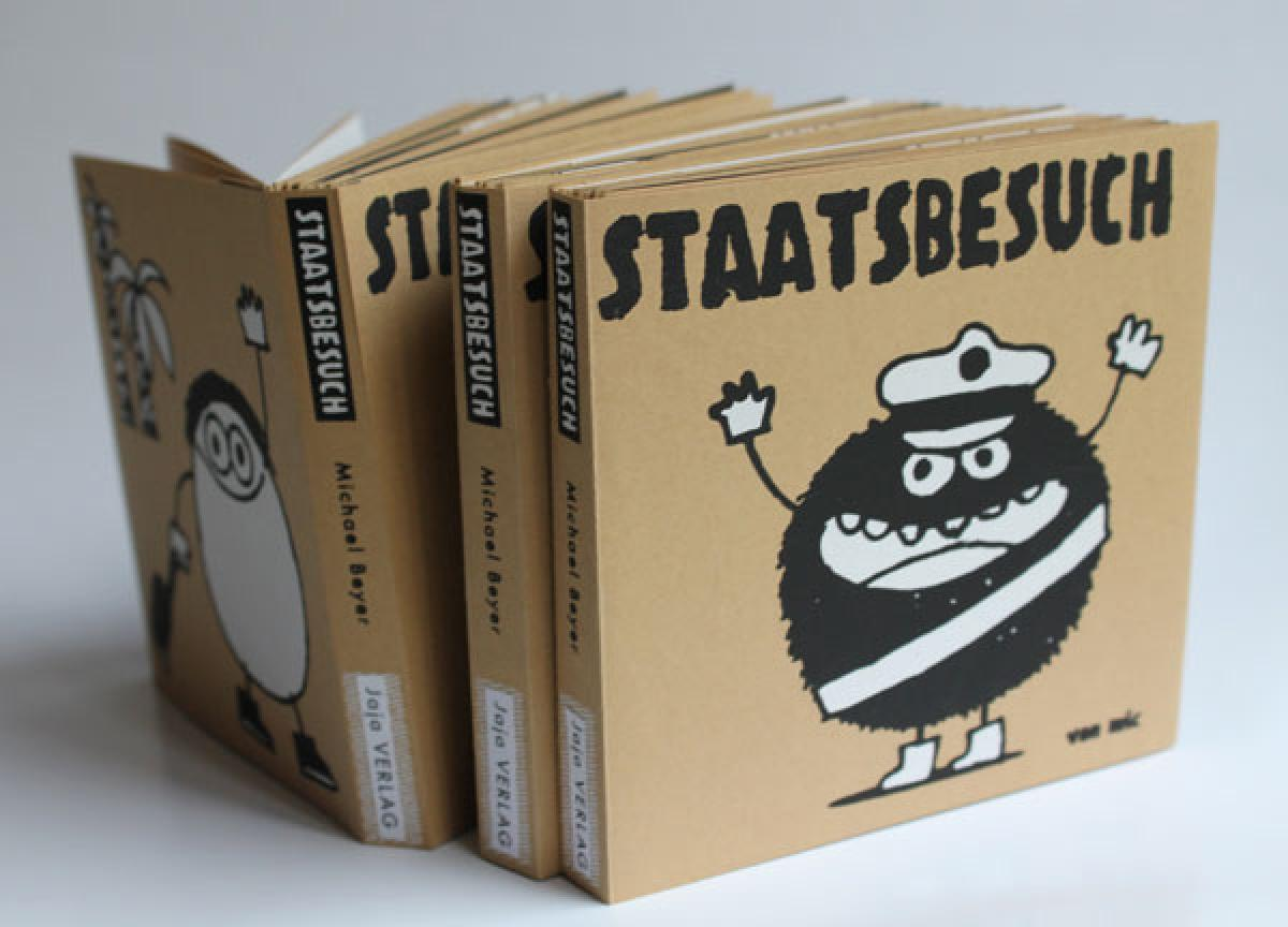 Leporello: Staatsbesuch (Comic),  Michael Beyer