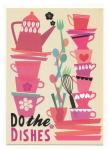 Postkarte, Elisandra: Do the dishes